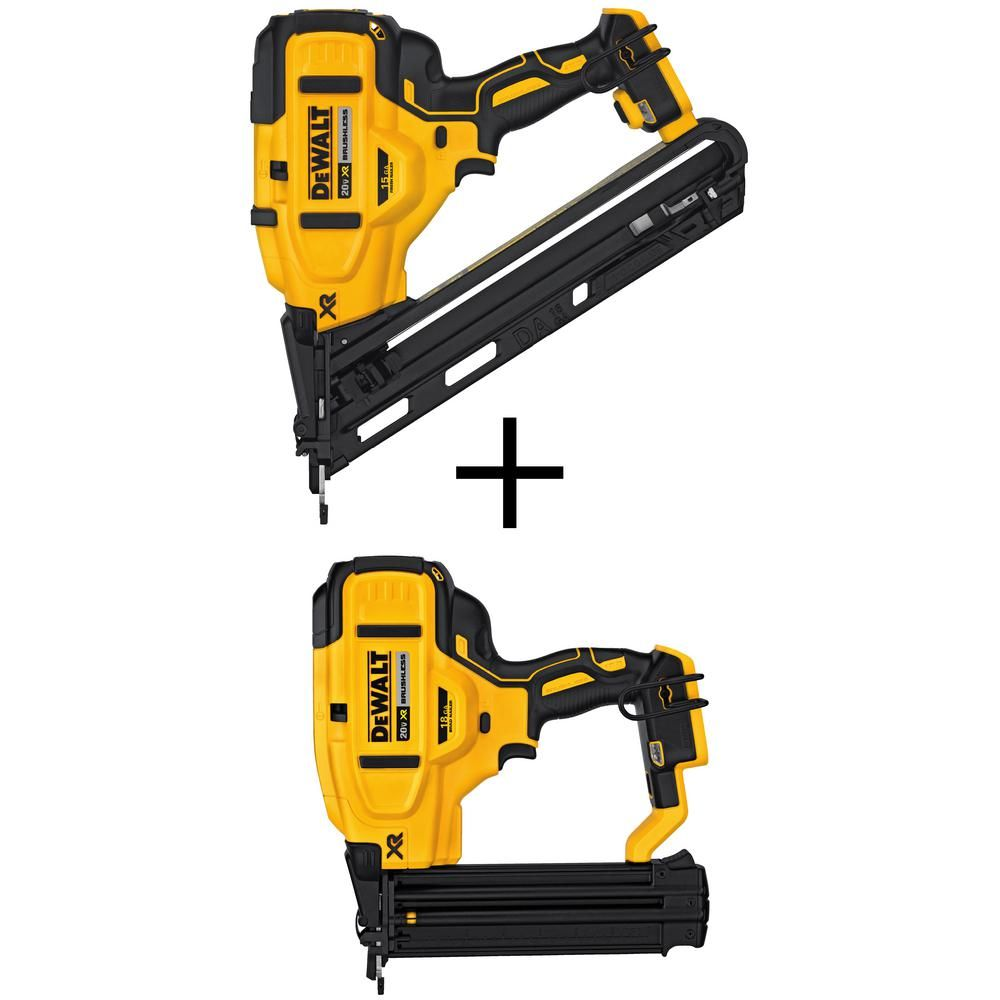 Bostitch Smart Point 2 5 In 15 Gauge Finish Pneumatic Nailer In 2020 Finish Nailer It Is Finished Portable Band Saw