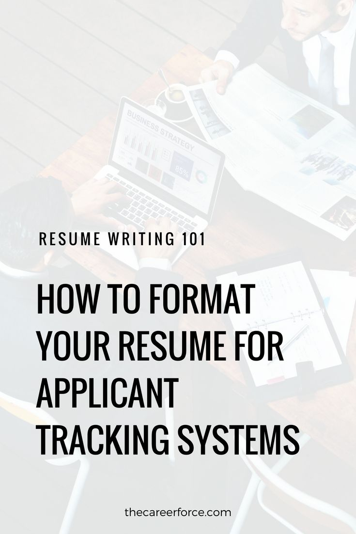 how do applicant tracking systems work  ats resumes