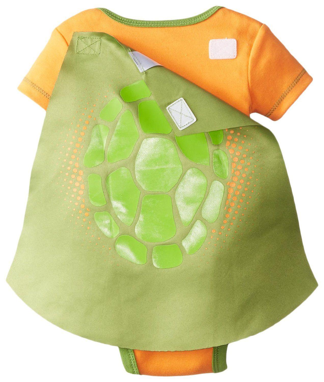 Amazon.com: Nickelodeon Baby-Boys Newborn TMNT Caped Creeper: Baby