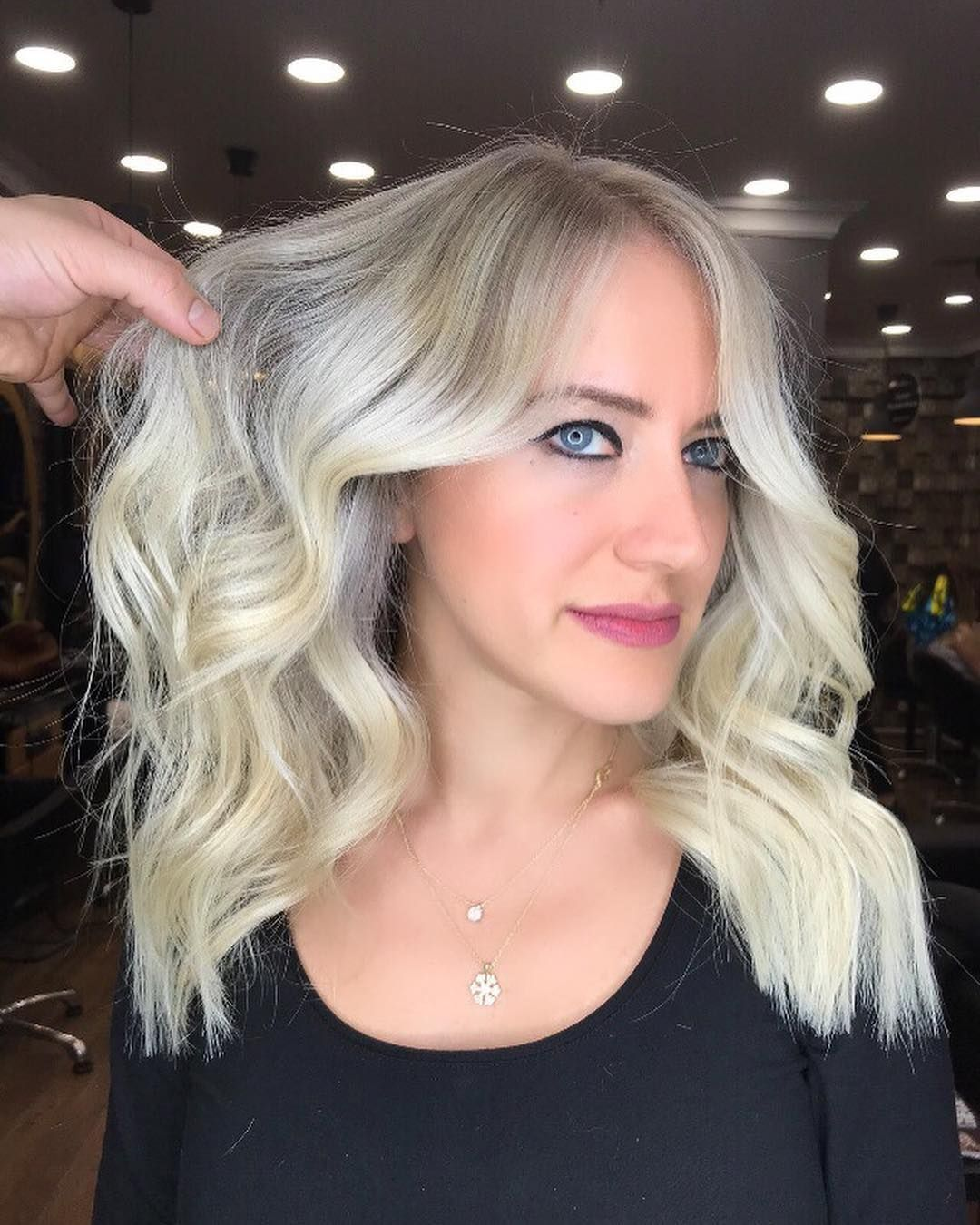 Perfect Hair Babyblonde Blonde Modernsalon Haircut