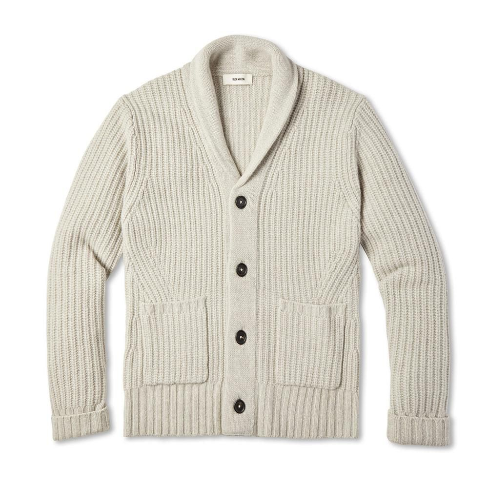 e231074b5 We started with a classic shawl neck cardigan as our inspiration but we  didn't
