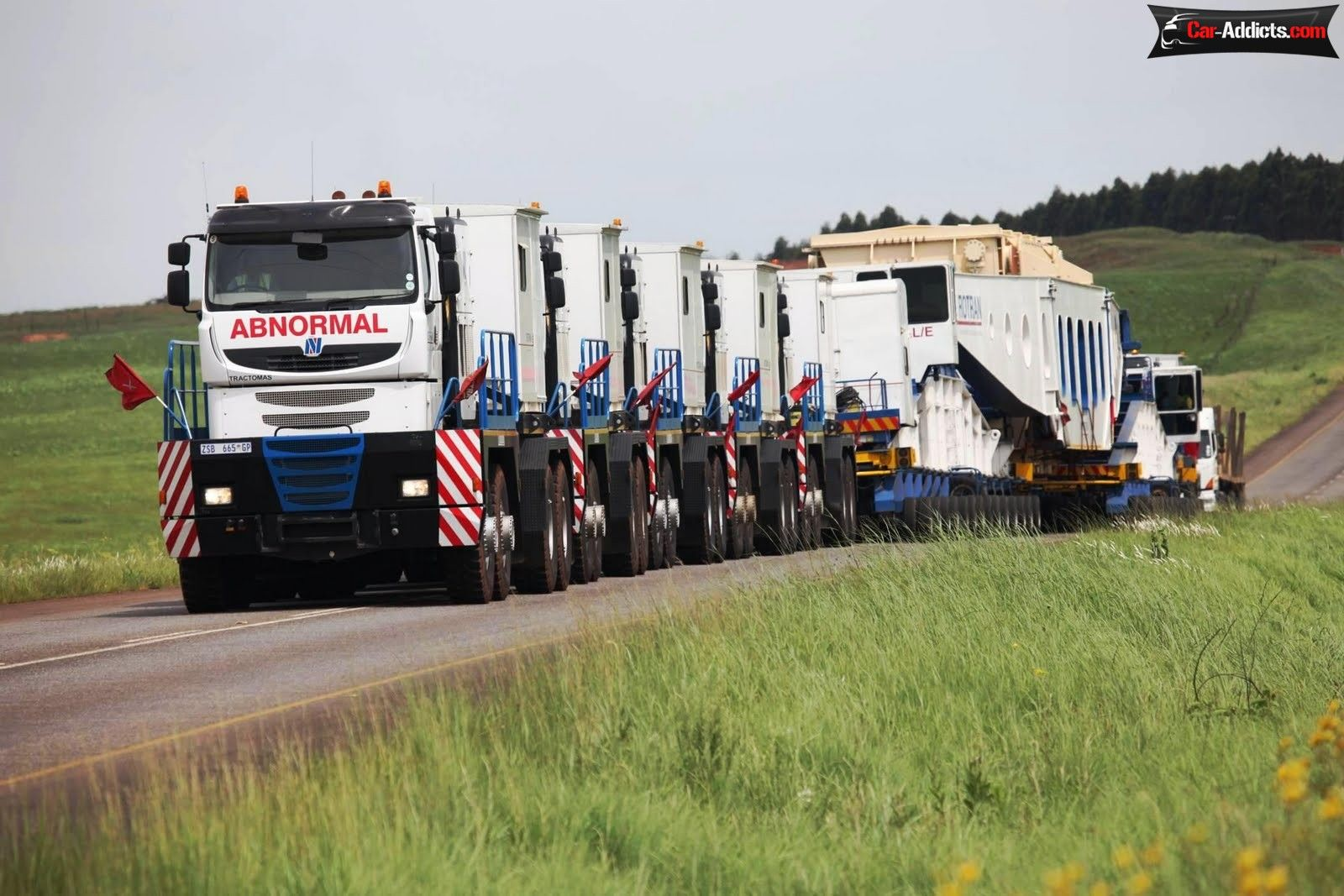 Nicolas Tractomas TR 10 x 10 D100 - the largest semi-truck in the ...