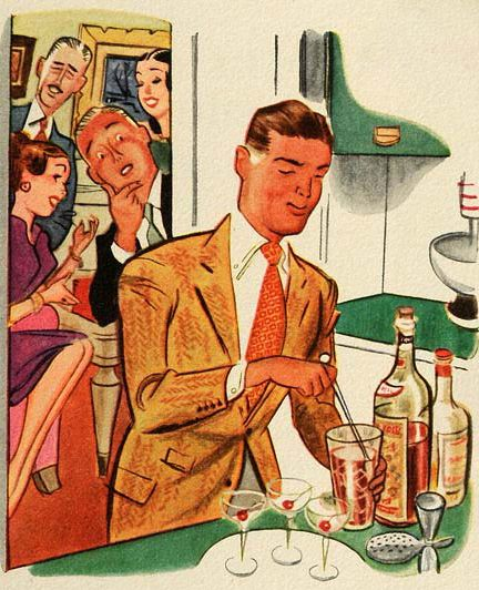 Kitchen Mixologist… I can relate.