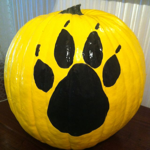 Painted pumpkin Halloween crafts Pinterest Pumpkin ideas