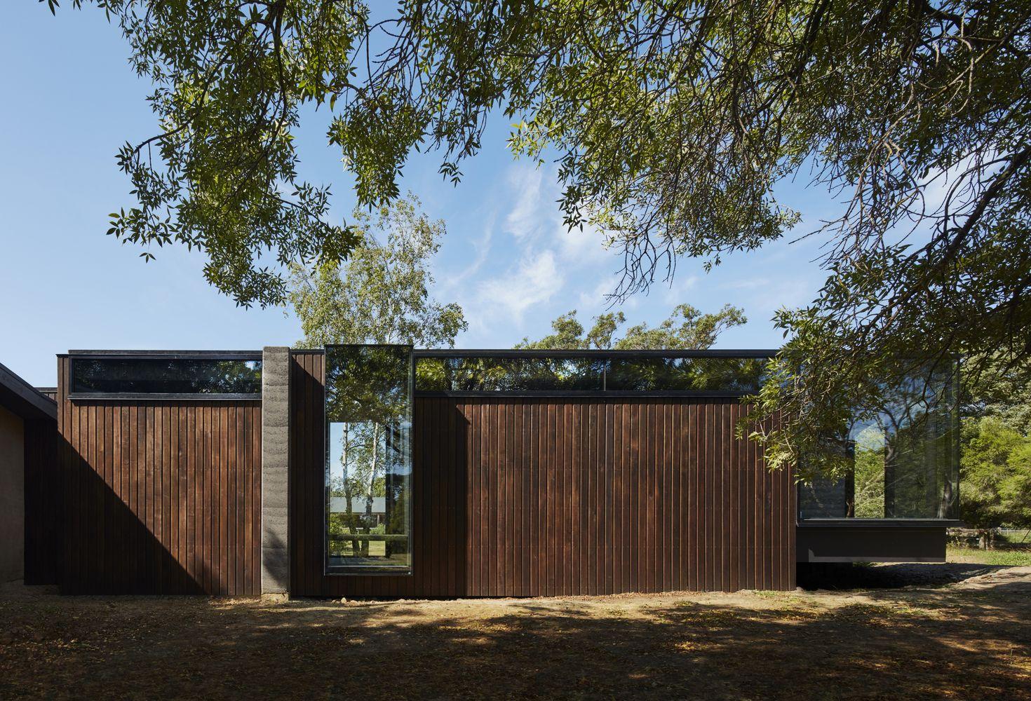 Galeria De Pavilhao Entre Arvores Branch Studio Architects 13 Pavilion Design Facade Architecture Studios Architecture