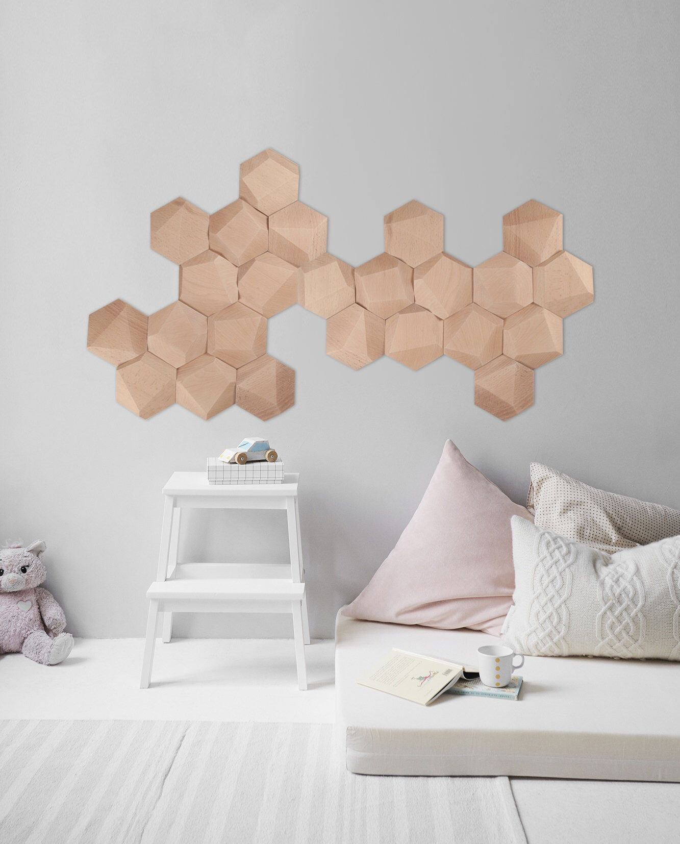 Baby room wall decor nursery decor geometric wall art nursery
