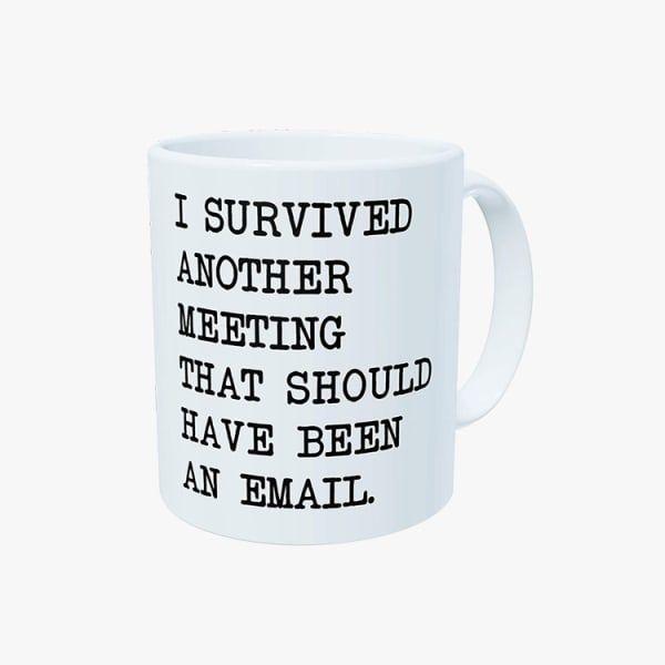 Amusing Office Meeting Mug