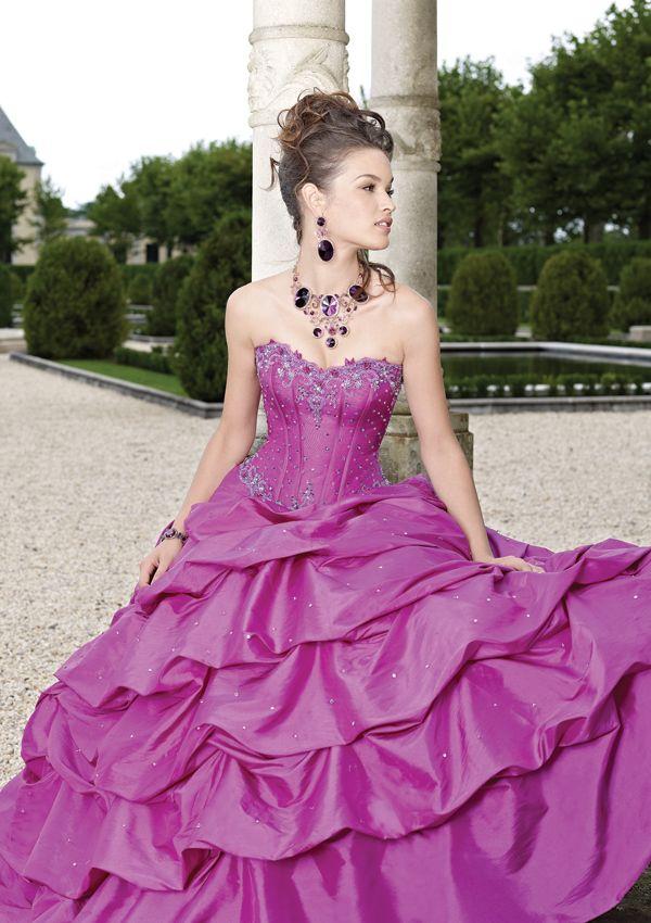 fxfame #quinceaños #elvestido #morado | el vestido | Pinterest ...