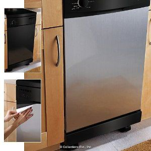 Peel And Stick Stainless Steel To Update Appliances Can You Say Only Way I Stainless Steel Panels Stainless Steel Contact Paper Stainless Steel Dishwasher
