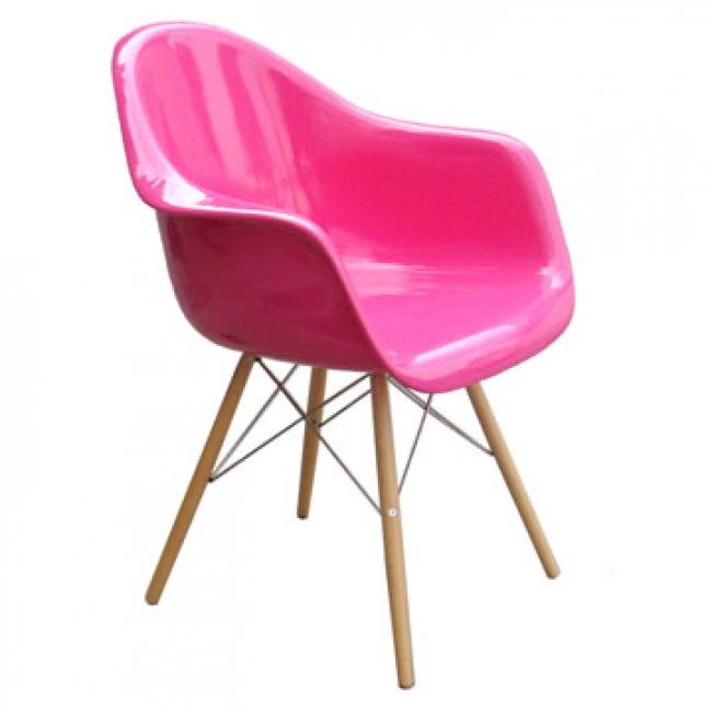 120 Pink | Chairs | Pinterest | Eames daw and Armchairs