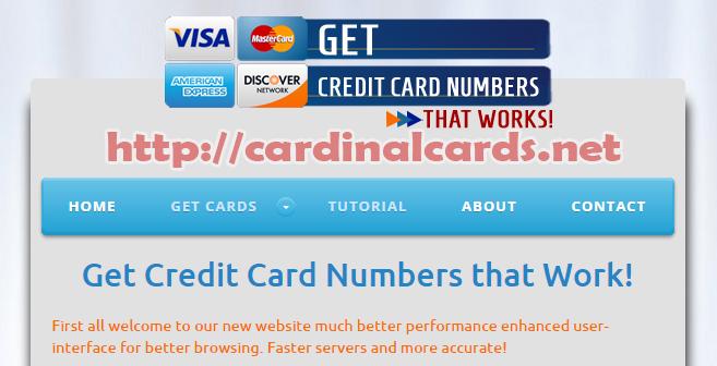 Get Working Visa Credit Card Numbers Cvv Or Security Code