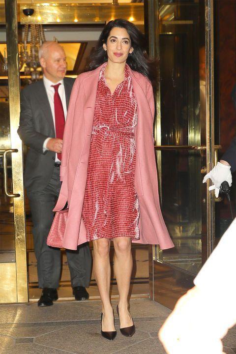 Amal Clooney S Most Stylish Looks Amal Alamuddin Style Style Fashion