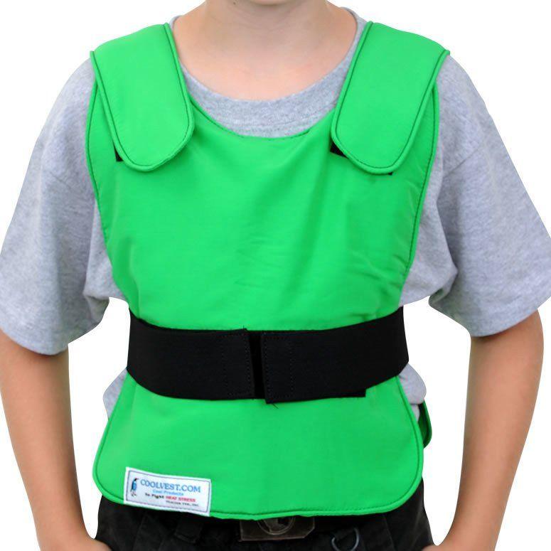 Glacier Tek Children S Cool Vest Green Includes Glacierpack Set