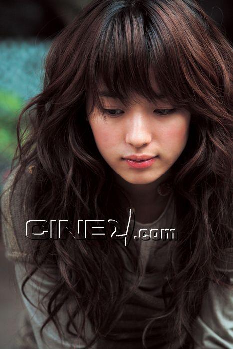Cute Asian Hair Long Brown Curly Hairstyles