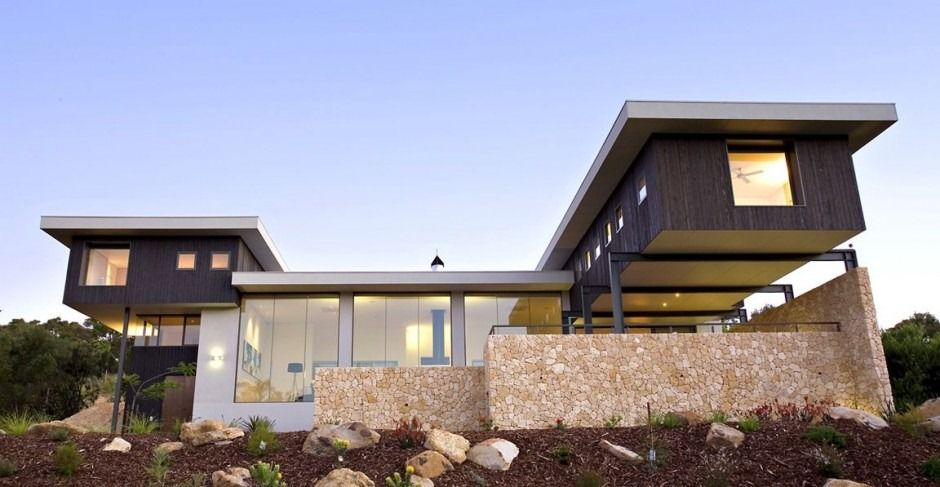 Home design, Eco House Design Ideas In The Middle Of Australian ...