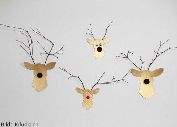 Dekorative Hirsche