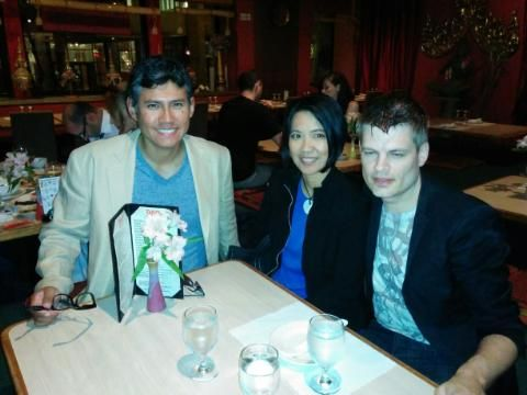 LeapFrog Project welcome dinner at Tao in Downtown Chicago, with OREM Foundation and ALLL...