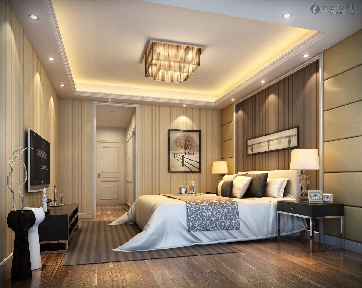 Bed room false vieling designs pinterest dormitorio - Plafones de pared ...
