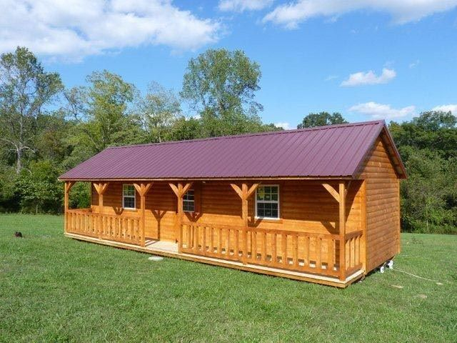small cabins to build | Beautiful log cabins- guest cabin ...