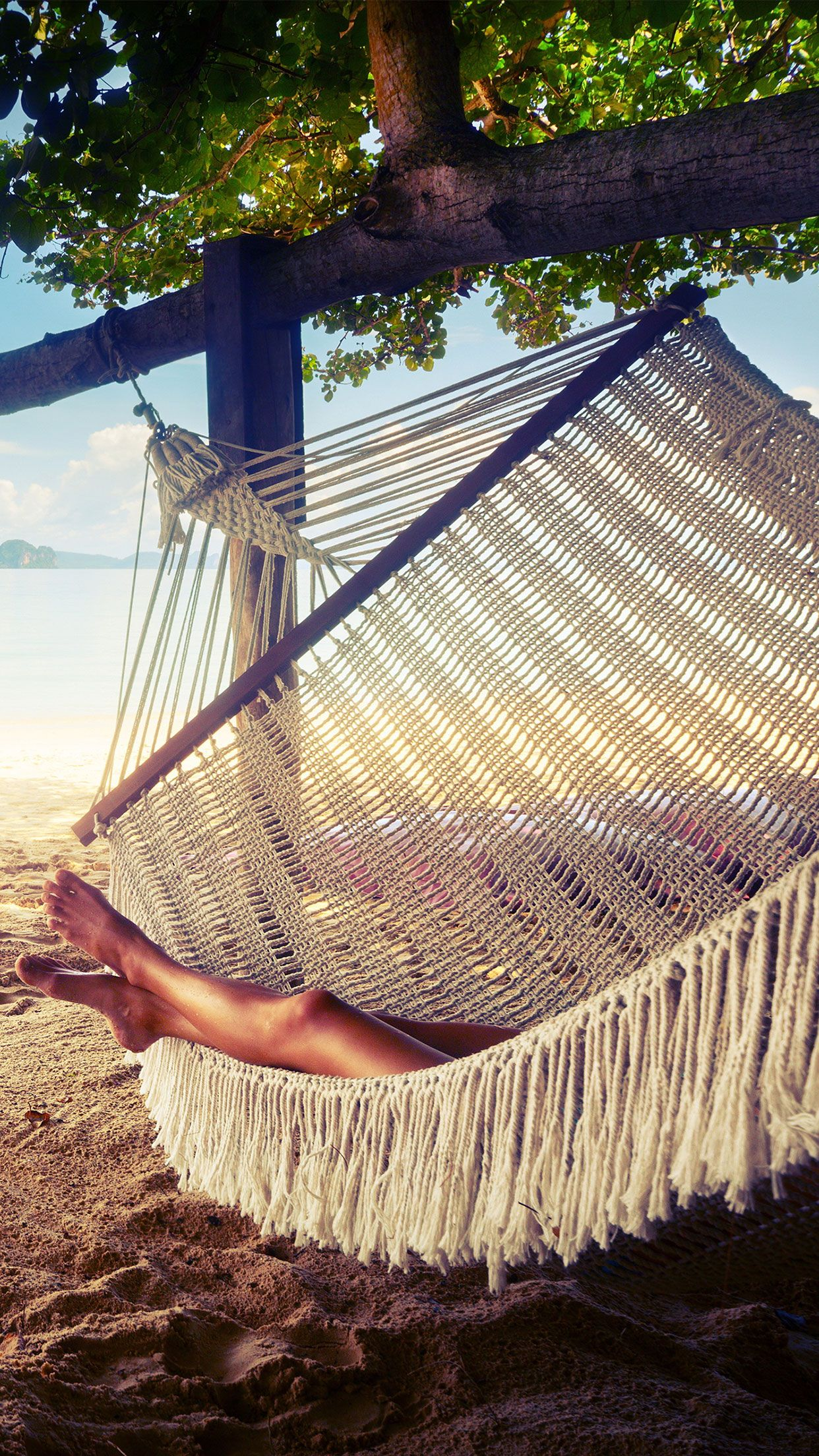Relaxing Summer Day Wallpaper Iphone Android Summer Relax Wallpaper More Like This On Wallzapp Com Summer Relaxation Outdoor Outdoor Decor