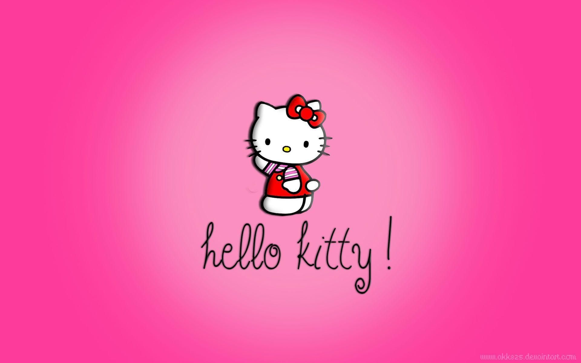 Download Free Hello Kitty Pink Wallpapers 1920x1200 Hello Kitty Wallpaper Free Hello Kitty Wallpaper Hd Hello Kitty Iphone Wallpaper