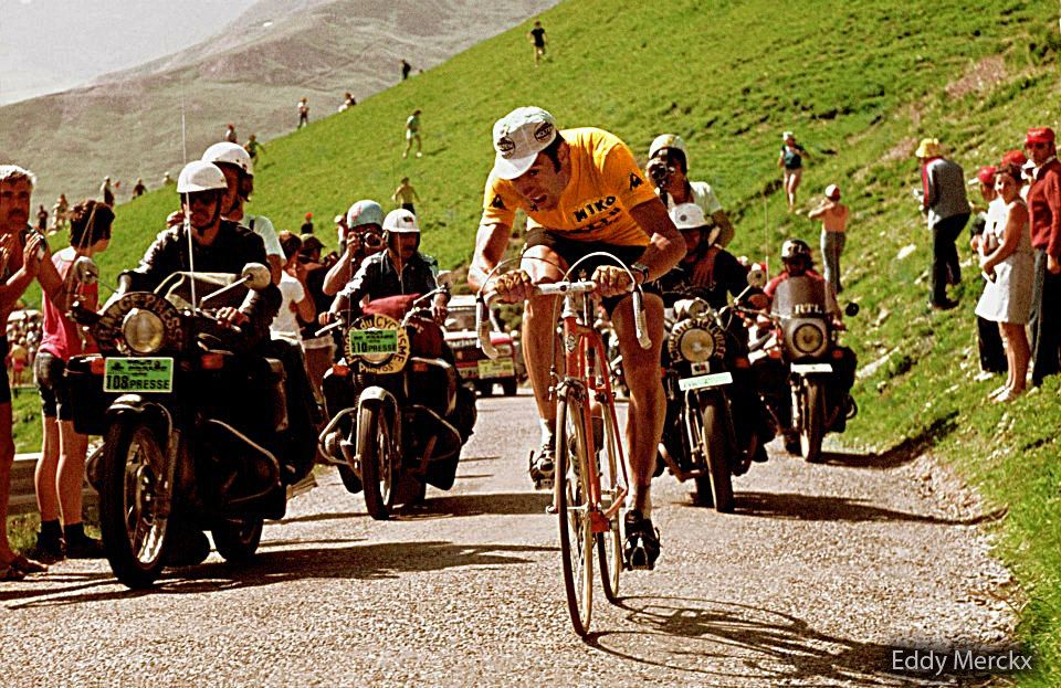 1975 > Eddy Merckx Motivation cyclisme, Cyclisme, Tour