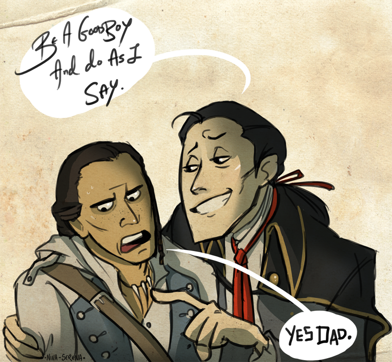 Connor And Haytham Fanfiction lol........man ...