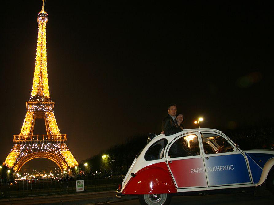 Paris at Night 2CV