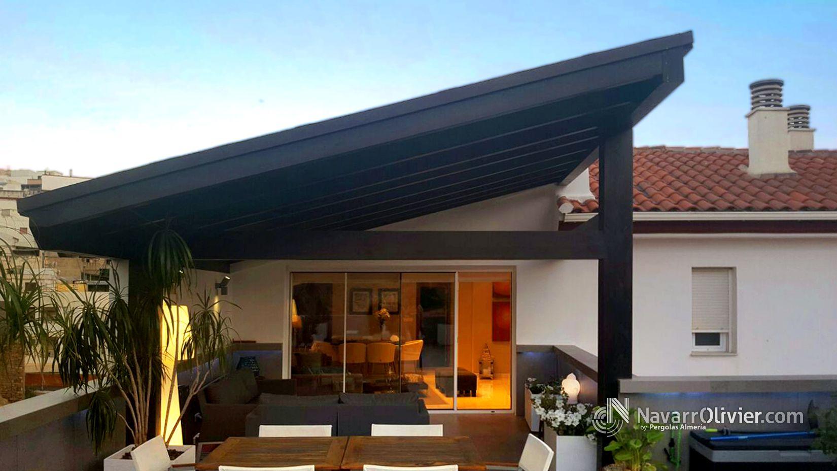 Pin de olivier navarro en p rgolas decor outdoor decor - Pergolas para terraza ...