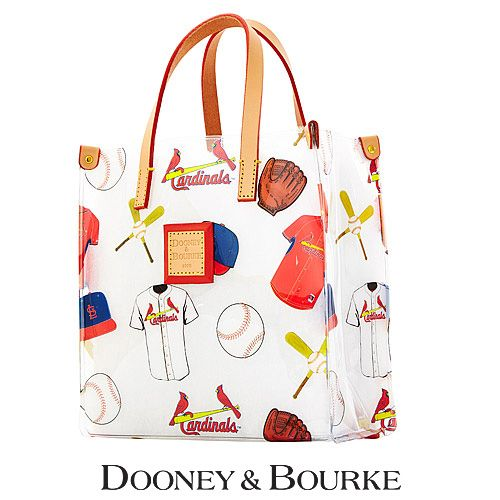 St Louis Cardinals Mlb Clear Lunch Tote By Dooney Amp Bourke Mlb Com Shop Stl Cardinals Dooney Bourke St Louis Cardinals