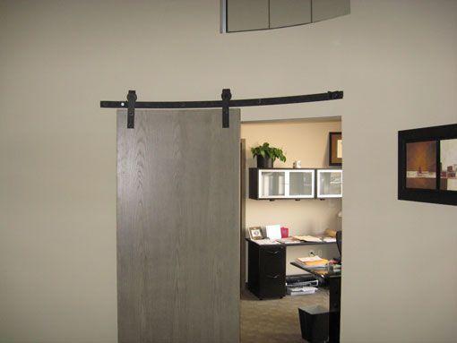 Curved Door Track Hardware At Barn Door Hardware we offer the highest quality of curved door track hardware. A special curved sliding door track can be ... & Curved Track Hardware - Barn Door Hardware | Homes | Pinterest ... Pezcame.Com