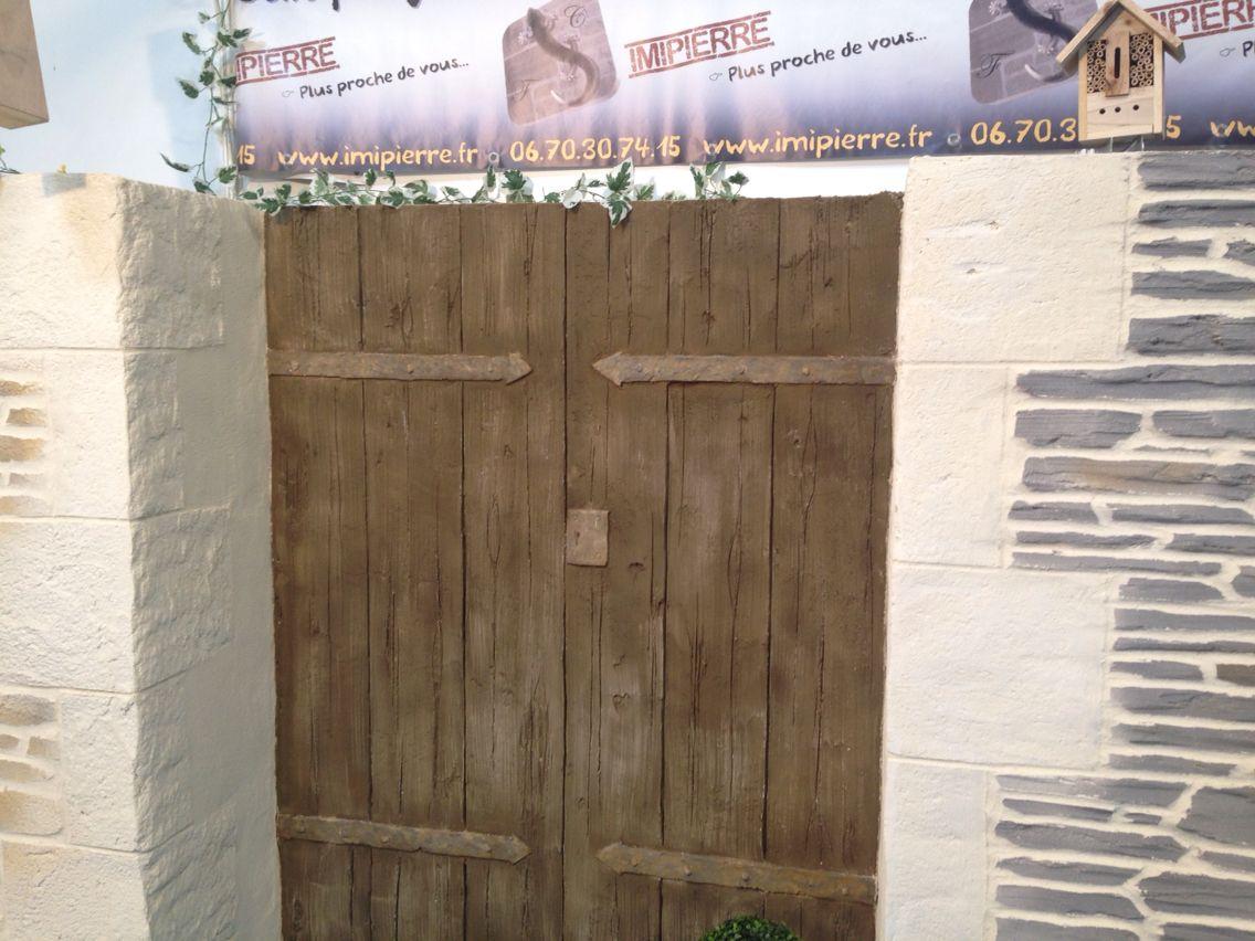 Fausse Porte En Enduit Sculpté Trompe Lœil Devis Gratuits Via - Trompe oeil porte