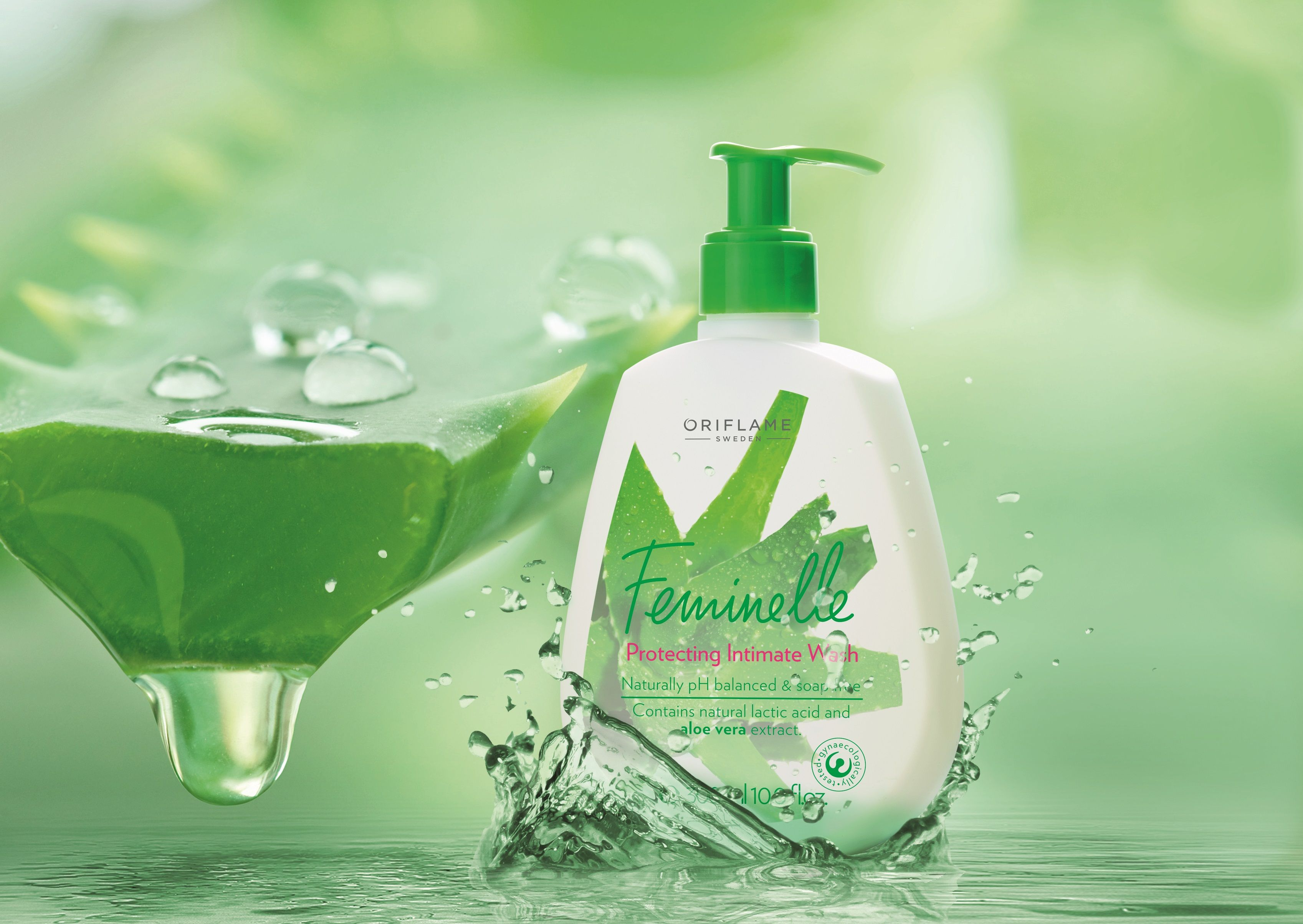 Oriflame Feminelle Protecting Intimate Wash with Aloe Vera ...