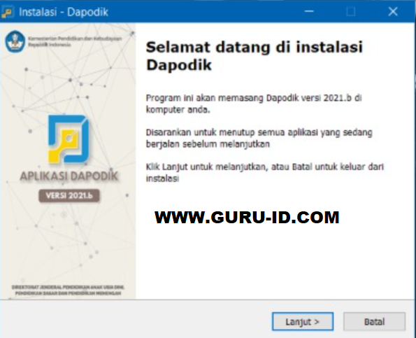 Patch Dapodik 2021 B Sudah Rilis Yuk Download Kepala Sekolah Aplikasi