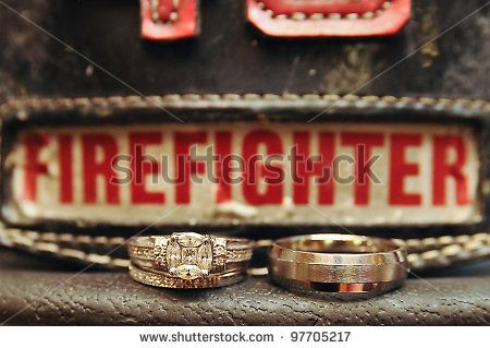 Permalink to Firefighter Wedding Rings