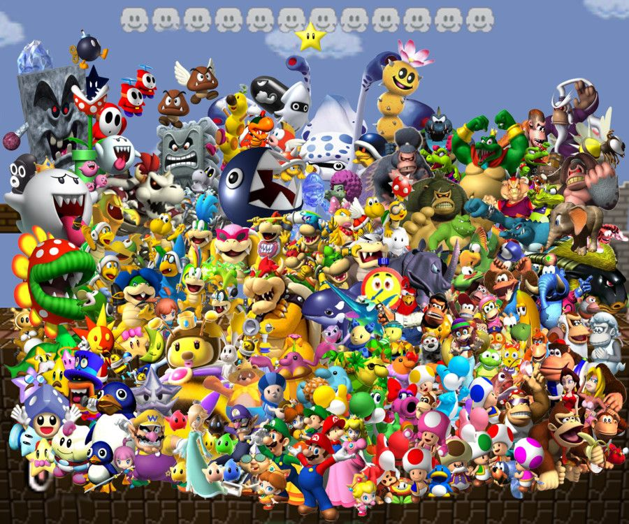 MARIO CHARACTERS 3 by ...