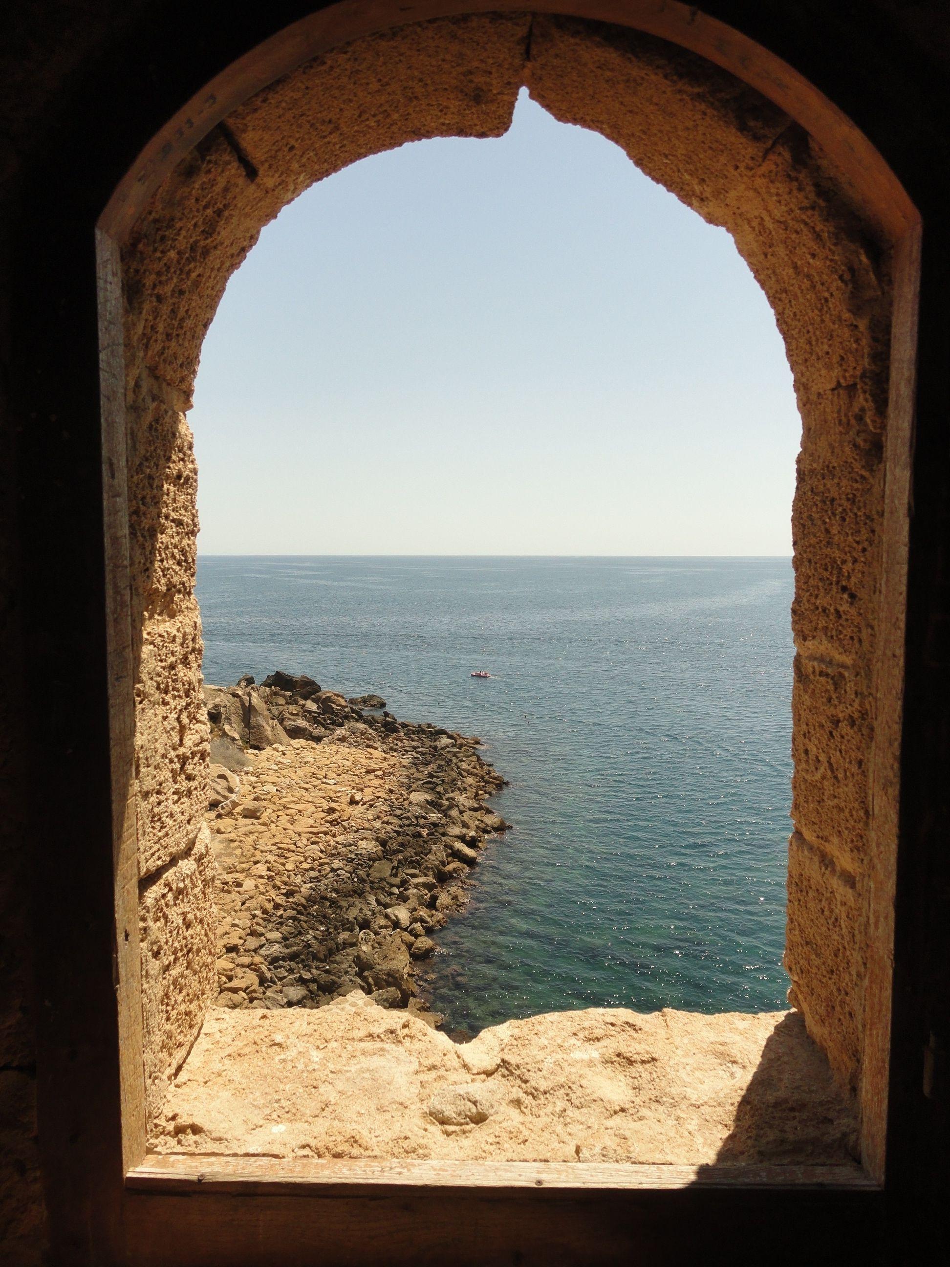 Particolare del Castello Aragonese di Le Castella [Foto a
