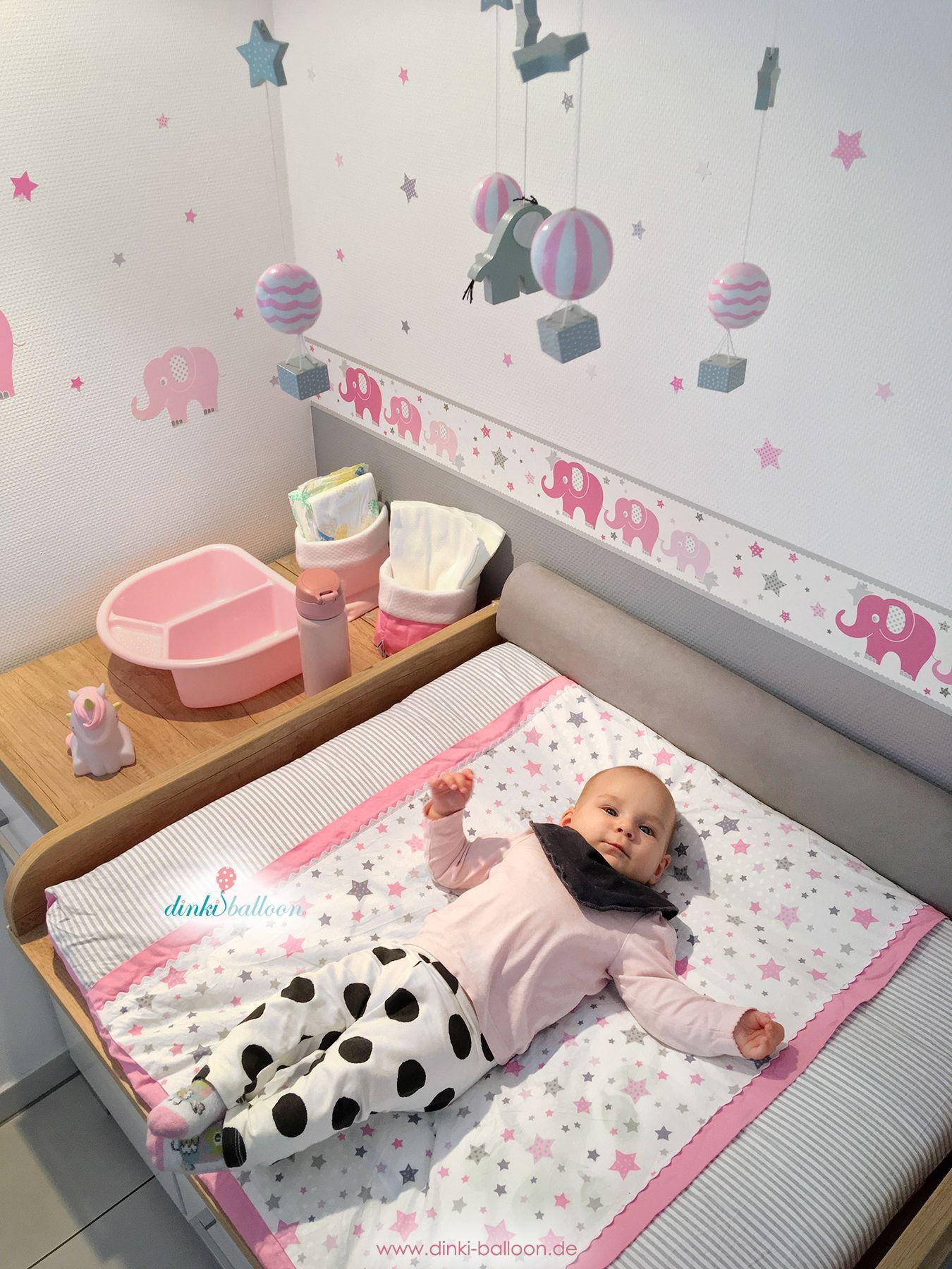 Beeindruckend Mädchenzimmer Wandgestaltung Das Beste Von Babyzimmer Wandgestaltung, Lampen Und Textilien Mit Elefanten