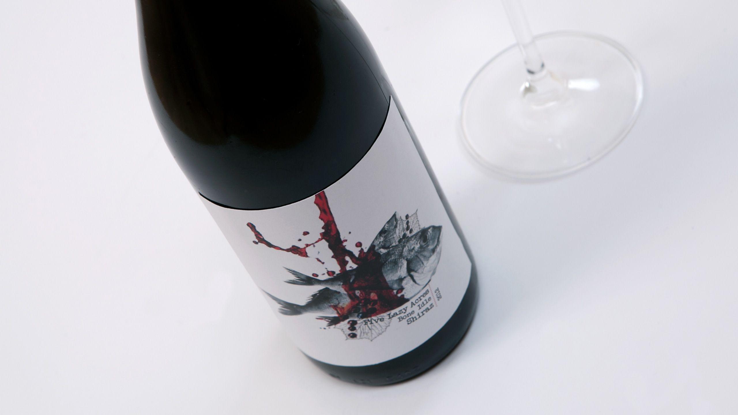 Five Laza Acres #winelable