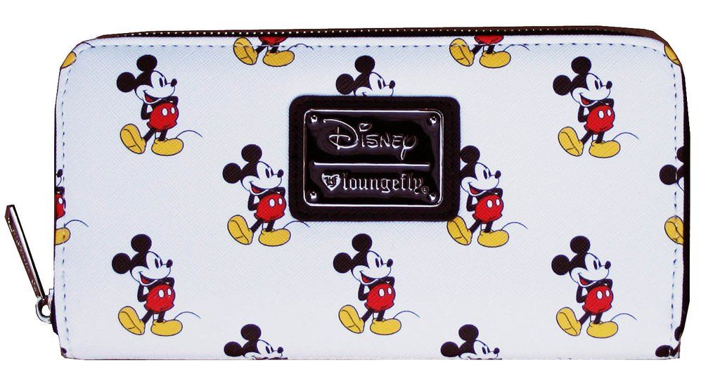 e0f9f58947 Loungefly Disney Classic Vintage Mickey Mouse All Over Print Wallet  brand- loungefly  color White  theme Big-Eyes Cartoon Pop-Art