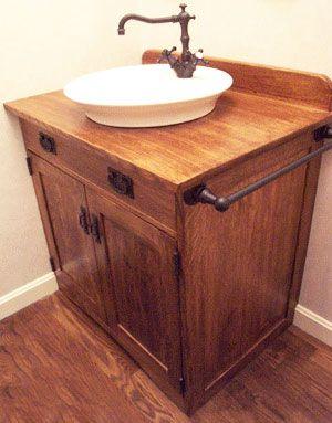 Mission Style Bathroom Vanity Bathroom Vanities
