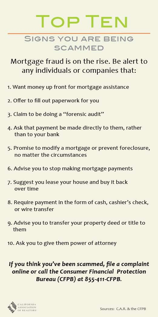 Mortgage Fraud Is On The Rise Avoid Being Scammed Mortage