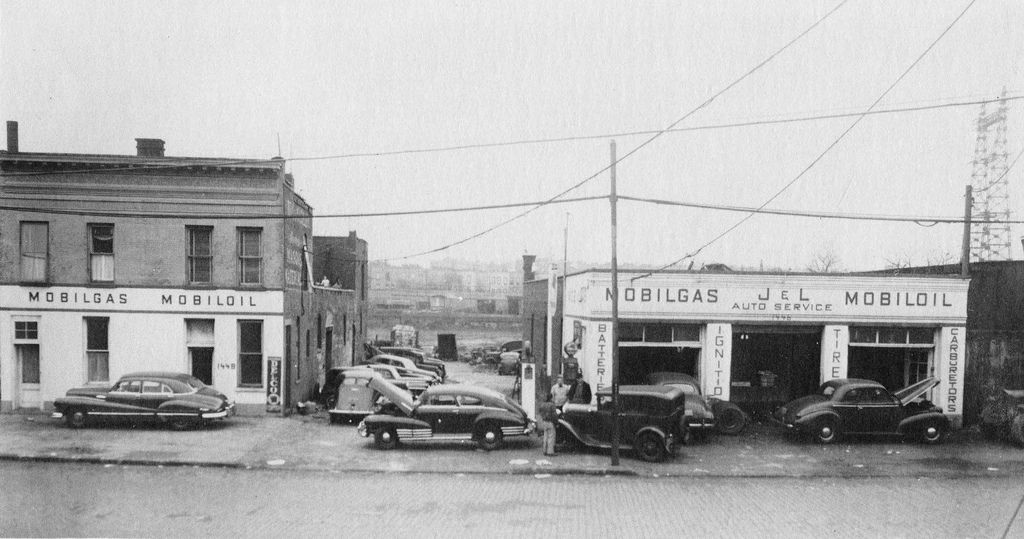 Image result for 1920 gas station new york Bronx history