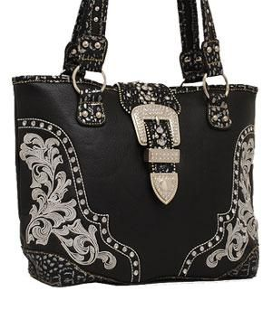 Western scroll buckle tote from www.spoilmhorse.com