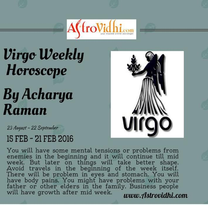 horoscope virgo 21 february