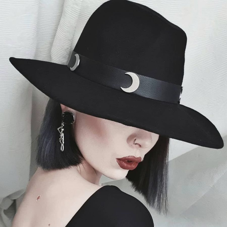 Killstar - Eternal Eclipse Fedora Hat -  hats  nugoth  accessories ... c16932d82db