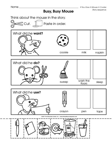 if you give a mouse a cookie   Childrens books activities ...