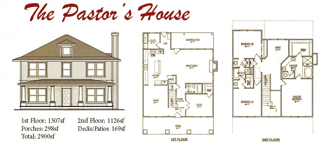 Modern foursquare house plans house design plans American home design plans