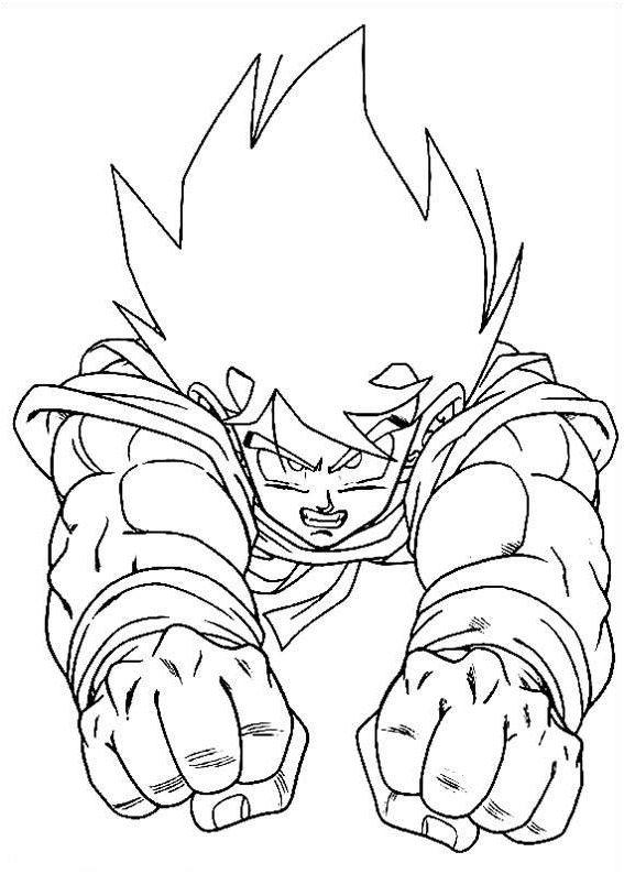 Dragon Ball Z Ausmalbilder
