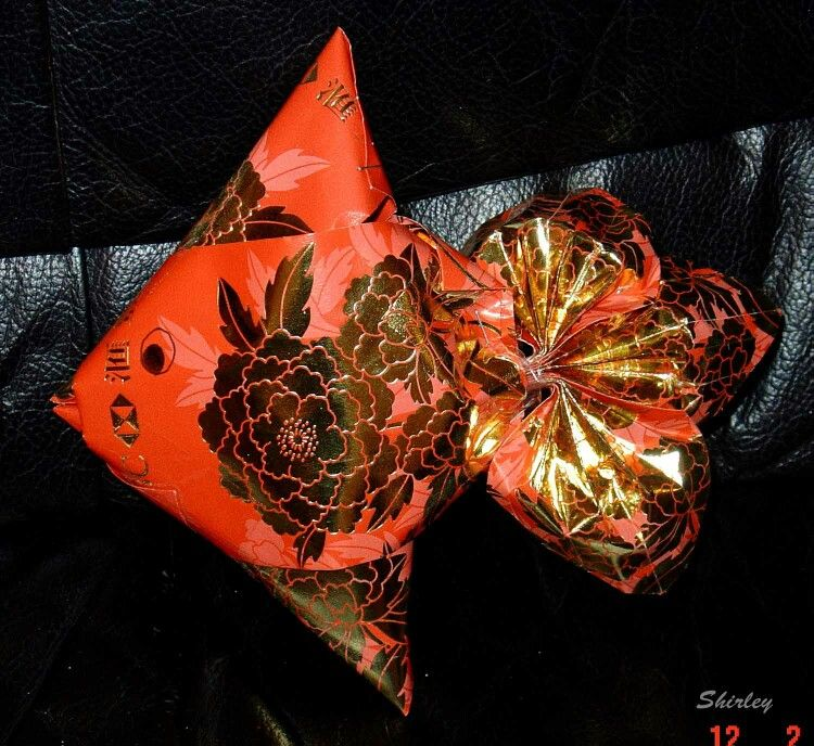 Red packet fish red packet hong bao ang pow for Ang pow koi fish tutorial